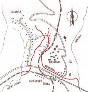 Mapa Ladislava Khandla